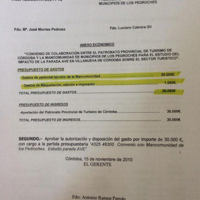 El Presidente de la Mancomunidad defiende a la entidad con documentos
