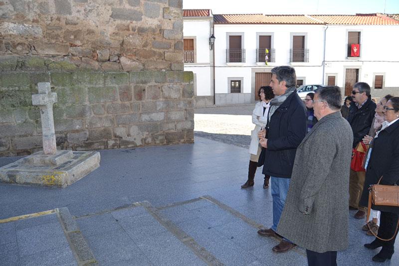 La Diputación rehabilita el entorno de la Iglesia de San Sebastián en Torrecampo