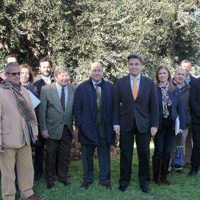 Cooperativas agrarias de los Pedroches reciben una ayuda de la Agencia de la Energía para implantar medidas de ahorro