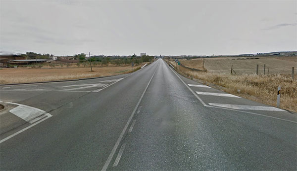 Carretera Alcaracejos Villanueva del Duque