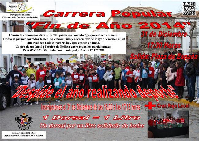 XXIV Carrera Popular Fin de Año, en Villanueva de Córdoba