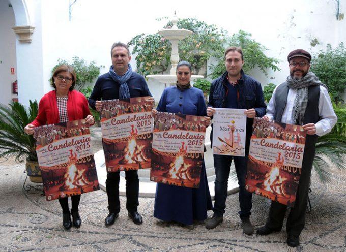 Presentada la fiesta de la Candelaria de Dos Torres en Diputación