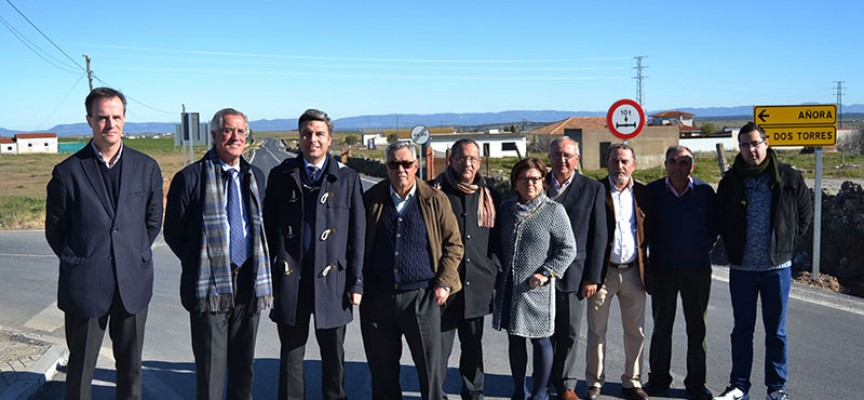 La Diputación invierte 600.000 euros en arreglar un primer tramo de la CO-6412, que conecta Pozoblanco y El Guijo