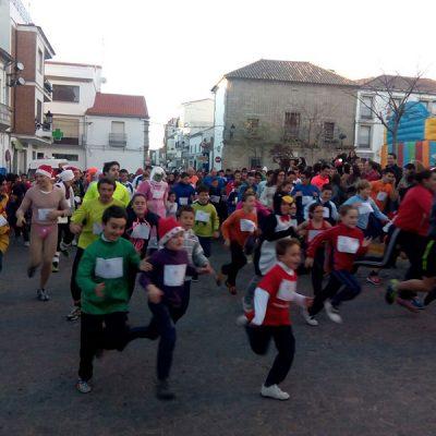 Gran participación en la XXIV Carrera Popular de Fin de Año de Villanueva de Córdoba