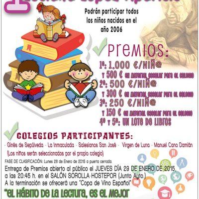Organizado el I Premio Infantil La Voz de la Lectura – Luciana López Aparicio