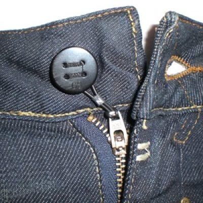 El botón del pantalón no me abrocha