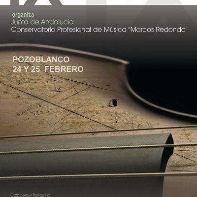 IX Concurso de Música de Cámara 'Lorenzo Palomo'