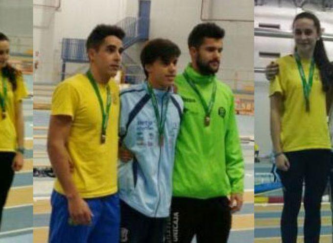 Dos platas y un bronce en el Campeonato de Andalucía Sub 23 para el Club Atletismo Pozoblanco Ginés