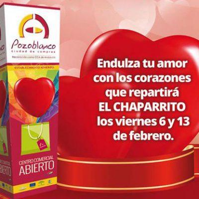 Campaña 'Enamorados de Ti' del Centro Comercial Abierto Pozoblanco Ciudad de Compras