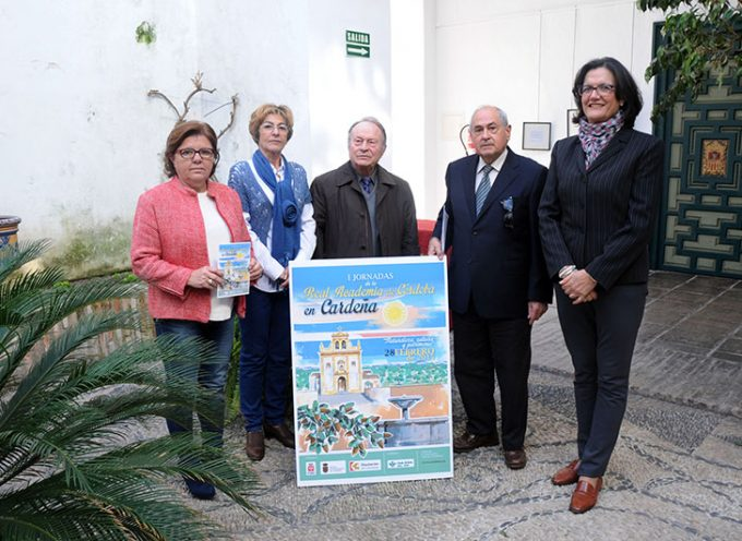 Presentadas en Diputación las jornadas de la Real Academia de Córdoba en Cardeña
