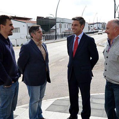 Diputación culmina la primera fase de acondicionamiento de Marqués de Santillana en Hinojosa del Duque