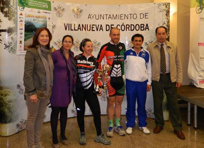 Jesús del Nero y Carmen Campaña, ganadores de la Media Maratón Jarota