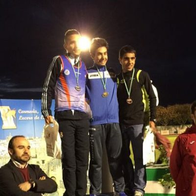 Ángel Muñoz Pérez, campeón de Andalucía Sub-23 de los 10.000 metros