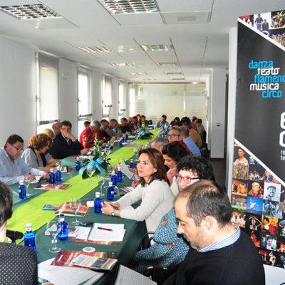Gestores culturales de 45 municipios definen su programación en Villanueva de Córdoba