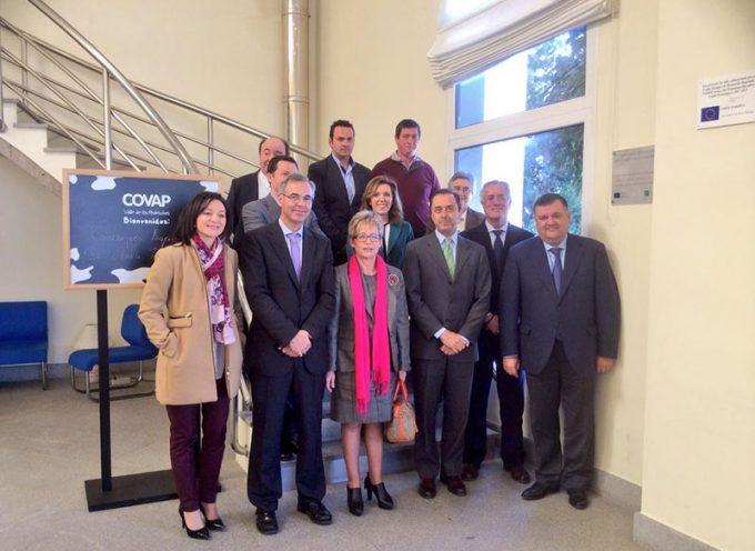 Elena Víboras ha visitado las instalaciones de COVAP