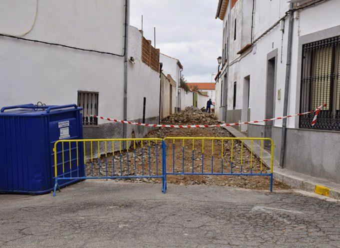 Arreglo de varias calles en Villaralto