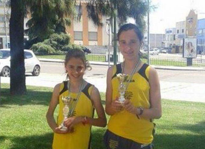 Grandes resultados de las hermanas Rodríguez Muñoz en atletismo