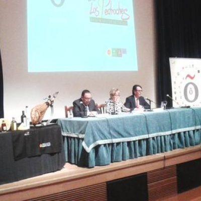 Elena Víboras habla de la calidad de los productos andaluces en Villanueva de Córdoba