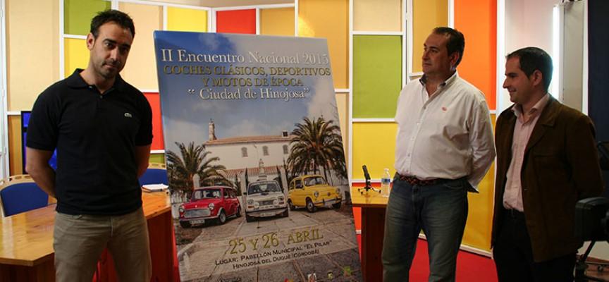 El doble de participantes en el II Encuentro Nacional de Coches Clásicos, Deportivos y Motos de Época
