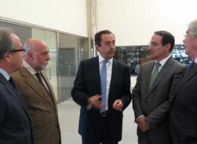 Los presidentes de CEA y CECO visitan las instalaciones de Covap