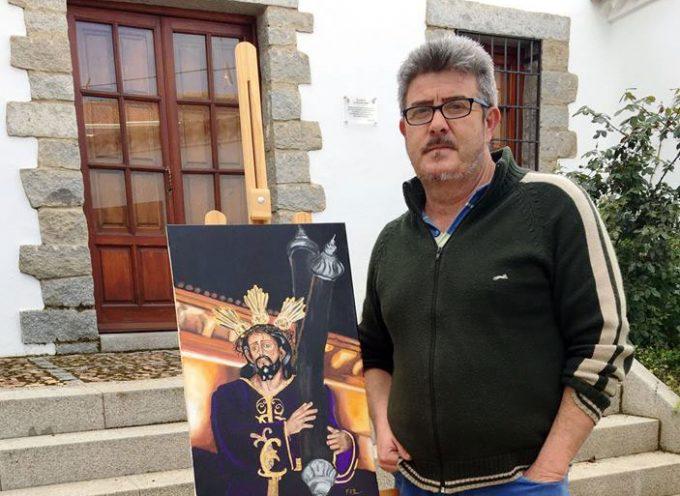 El artista Francisco Rísquez dona un cuadro al Ayuntamiento de Pozoblanco