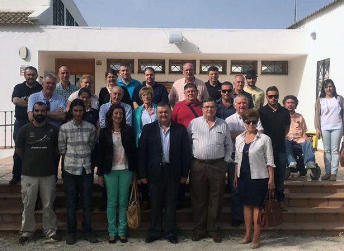 Zurera se reune en Cardeña con empresas comprometidas con la Carta Europea de Turismo Sostenible