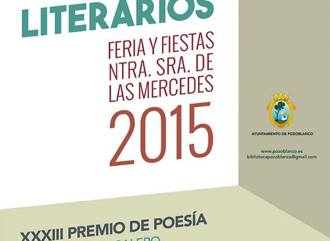 Abierta la convocatoria de los Premios Literarios 2015 de Pozoblanco
