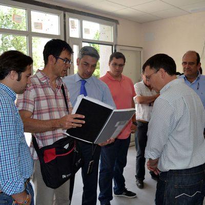Avanzan las obras de reforma del cementerio de Villaralto