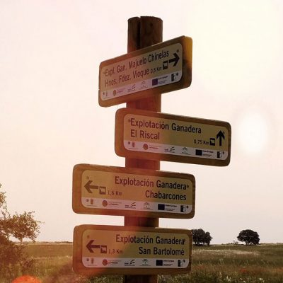 Finalizada la señalización y geolocalización de las explotaciones ganaderas de Dos Torres