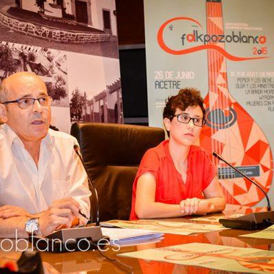 Presentada la XXVIII Muestra de Música Tradicional Folkpozoblanco 2015