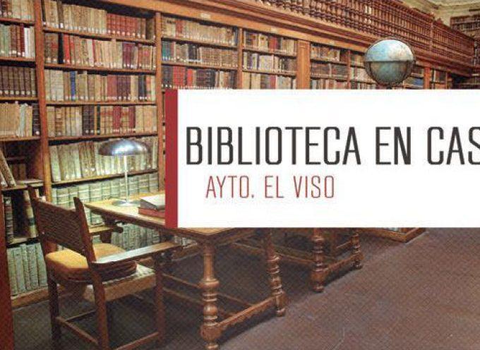 En El Viso se ha puesto en marcha el servicio de biblioteca a domicilio