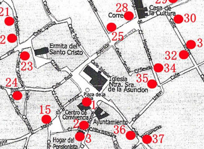 La ruta de los altares del Corazón de Jesús en Dos Torres