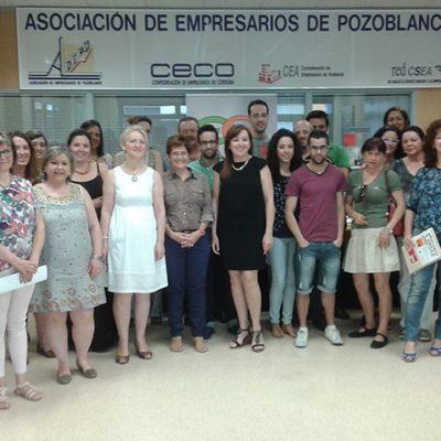 Empresarias y jóvenes emprendedores de Los Pedroches hablan del autoempleo