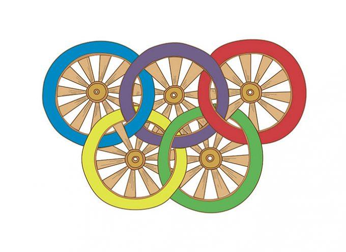 Preparando las Mini-Olimpiadas Rurales en Añora