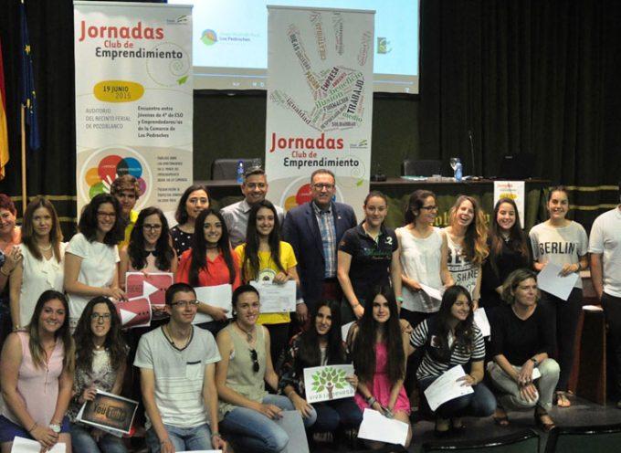 Jóvenes y profesores de Los Pedroches reciben un reconocimiento por su carácter emprendedor