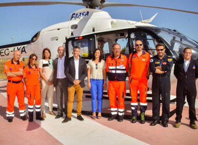La Junta pone en marcha un nuevo helipuerto en Pozoblanco para los helicópteros del 061