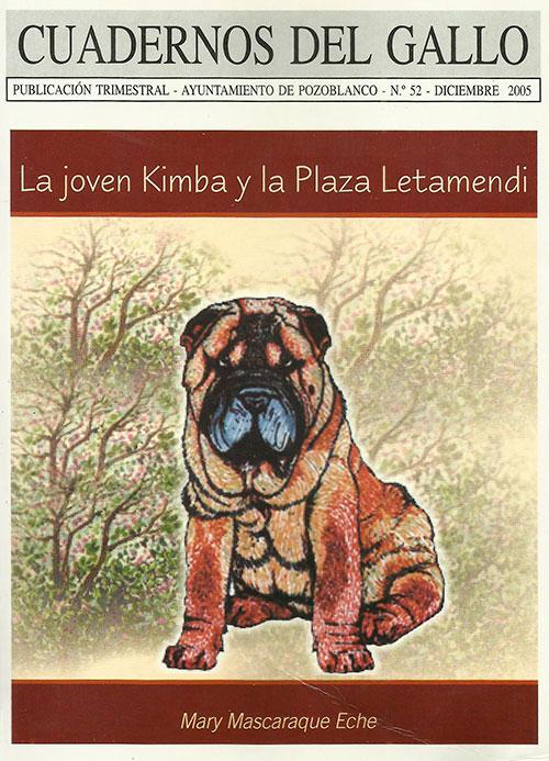 La joven Kimba y la Plaza Letamendi