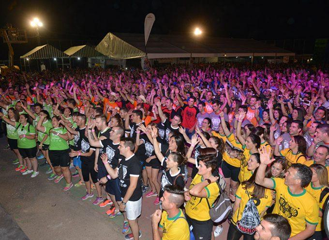 Más de 4.000 personas disfrutan de la ceremonia de apertura de unas Olimpiadas Rurales de récord
