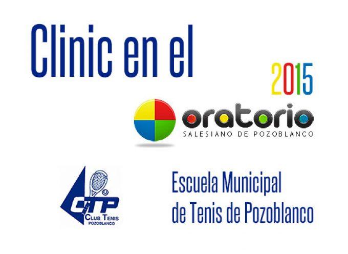 II Clinic de Tenis en el Oratorio de Pozoblanco