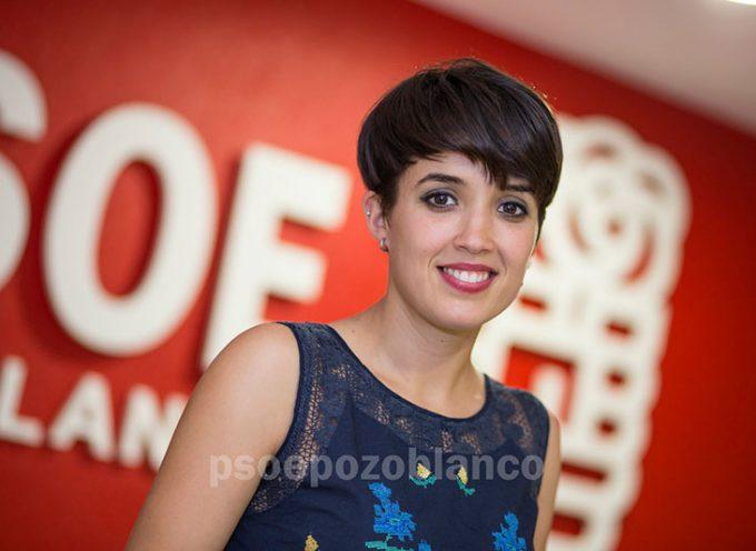 Araceli Araujo es elegida Secretaria General de Juventudes Socialistas de Pozoblanco