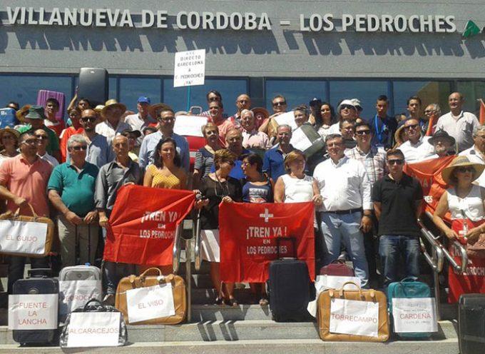 'Los Pedroches hacen la maleta por una estación más operativa' [Vídeos]