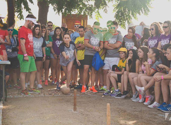 El calor marca la gran jornada de las Olimpiadas Rurales de Añora