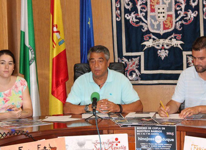 Presentación de actividades culturales y del cartel de feria en Hinojosa del Duque