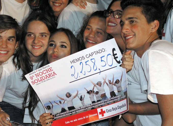 Cruz Roja celebra su décima 'Noche Solidaria' en Hinojosa del Duque
