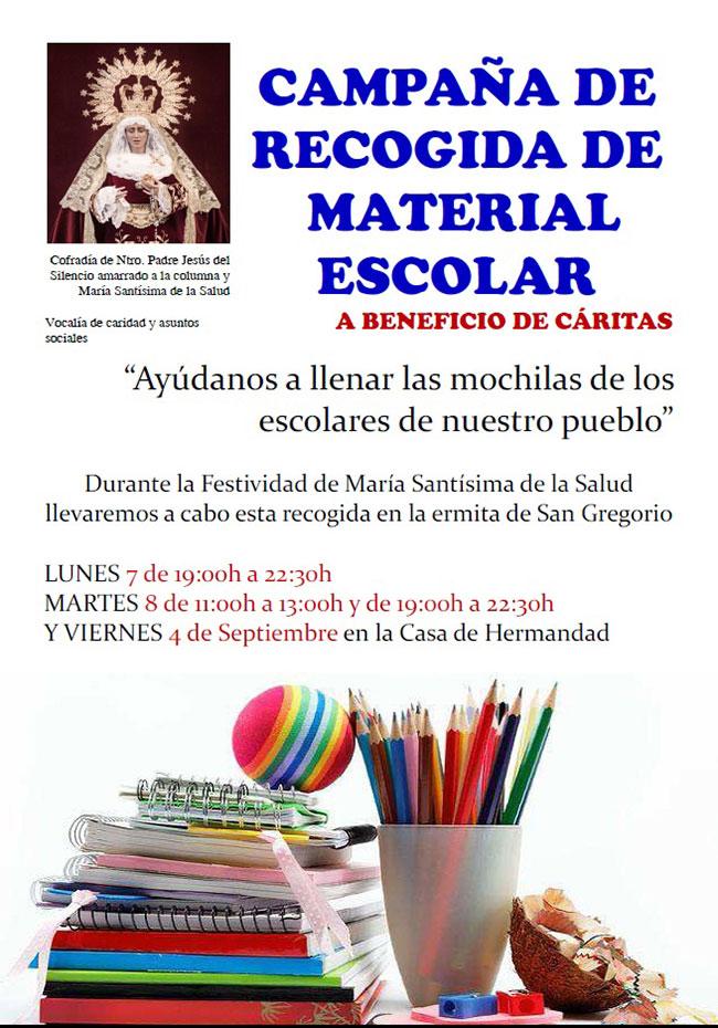 Pozoblanco-RECOGIDA-MATERIAL-ESCOLAR