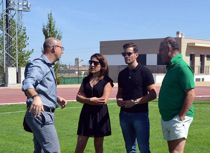 El delegado de Juventud y Deportes visita Pozoblanco