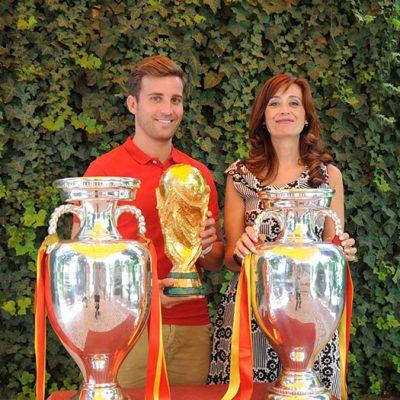 Diputación exhibirá trofeos obtenidos por la selección española de fútbol
