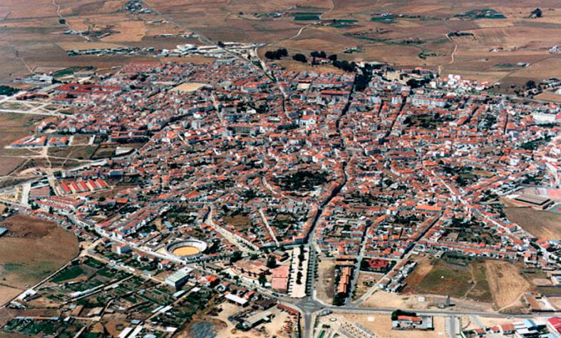 Fotografía aérea de Pozoblanco