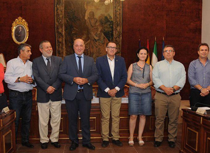 Diputación suscribe convenios con municipios de Los Pedroches para obras de la Confederación Hidrográfica del Guadiana