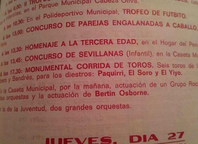 Enfado en Pozoblanco por las declaraciones de Bertín Osborne